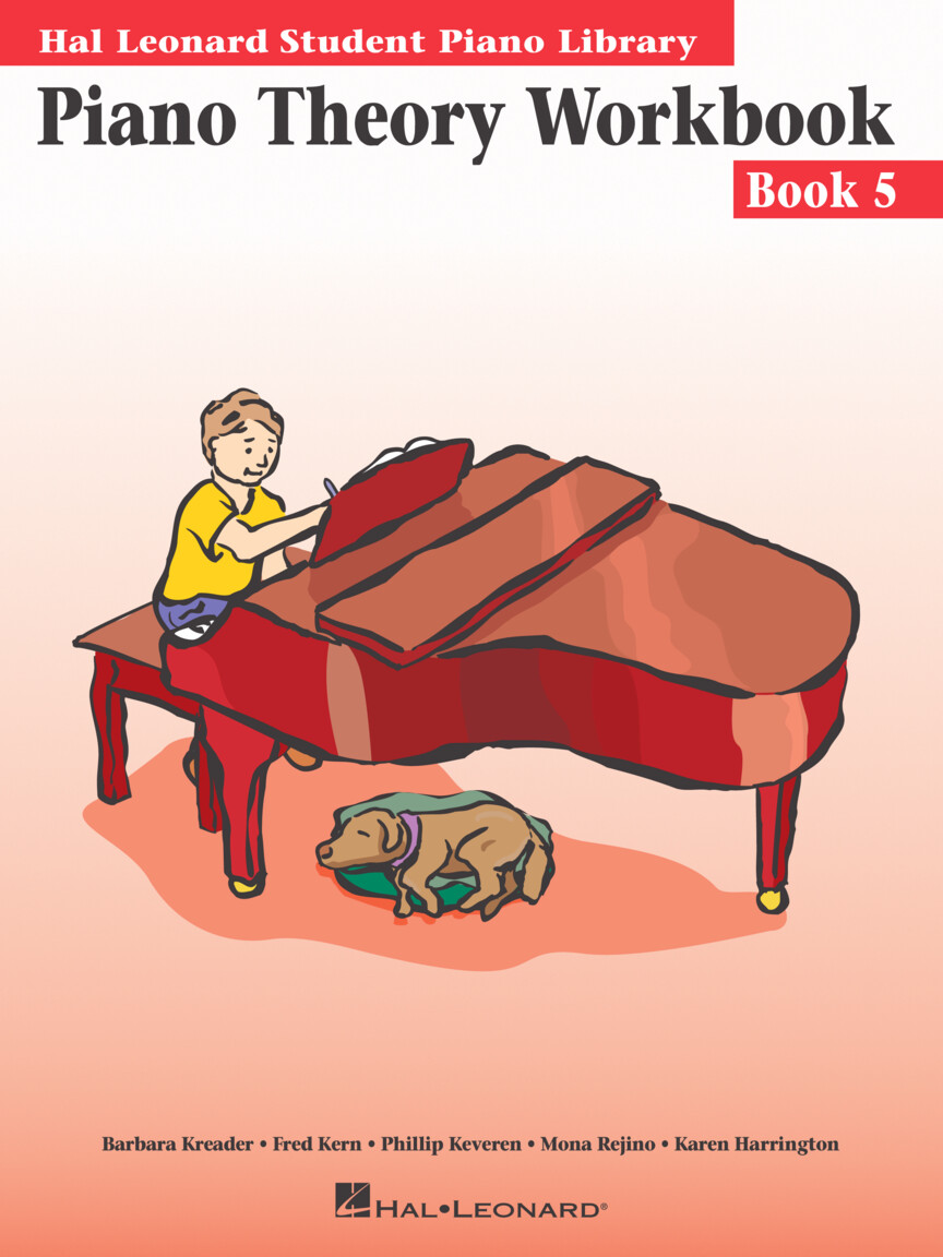 Product Cover for Piano Theory Workbook – Book 5
