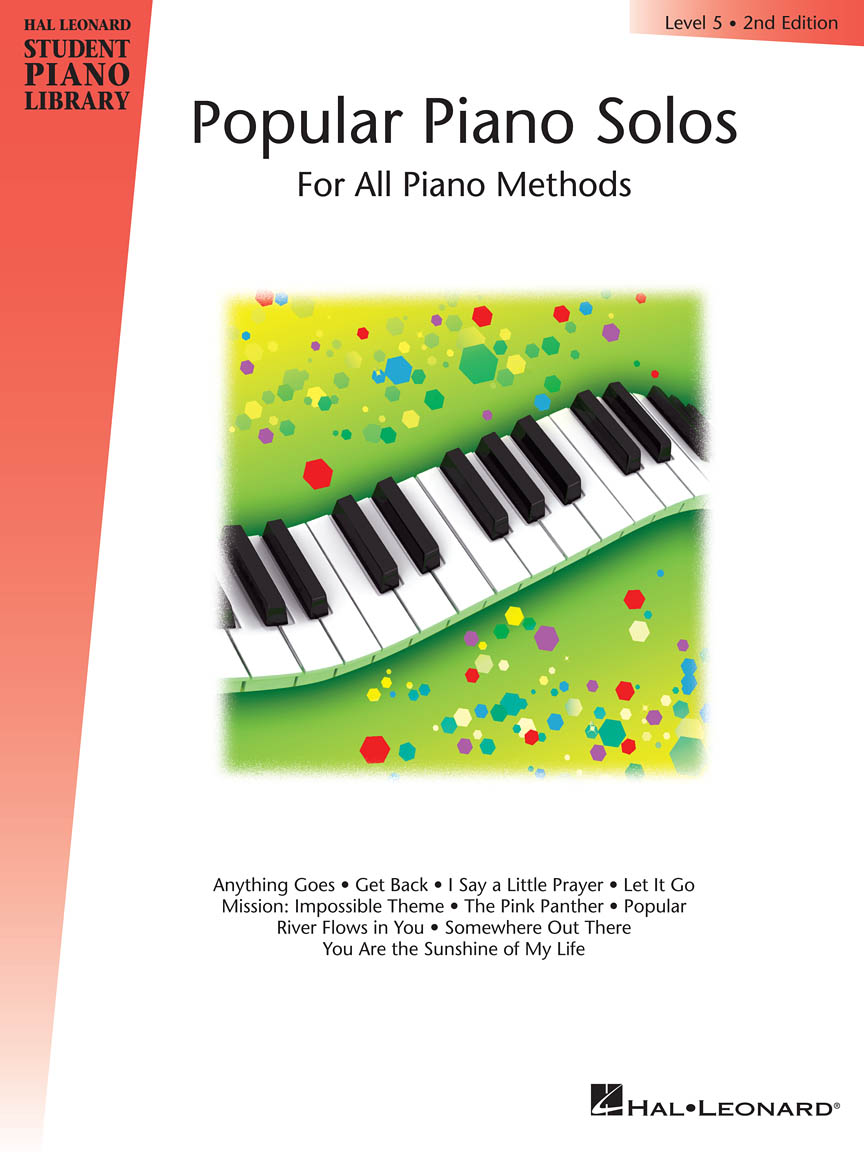 Product Cover for Popular Piano Solos – Level 5, 2nd Edition