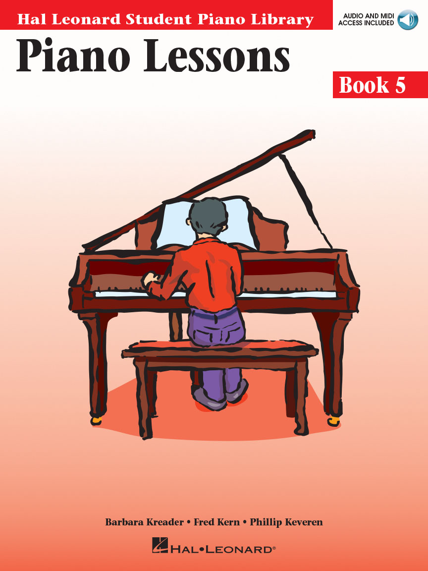 Product Cover for Piano Lessons Book 5