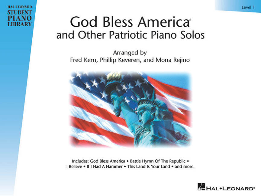 God Bless America® and Other Patriotic Piano Solos – Level 1