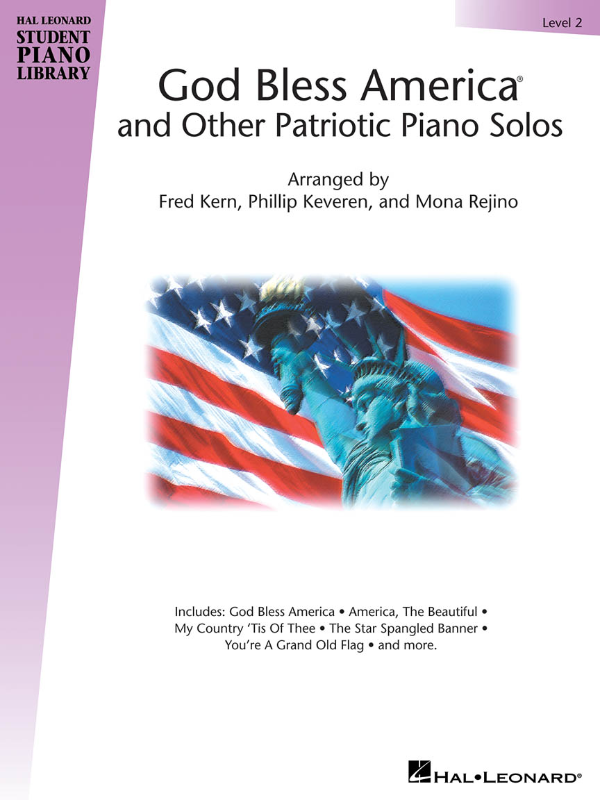 Product Cover for God Bless America® and Other Patriotic Piano Solos – Level 2