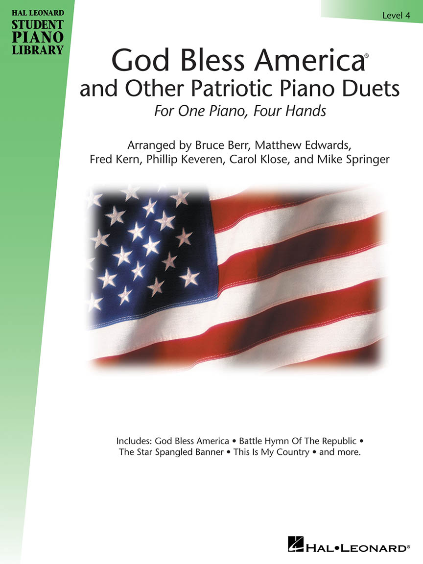 Product Cover for God Bless America and Other Patriotic Piano Duets – Level 4