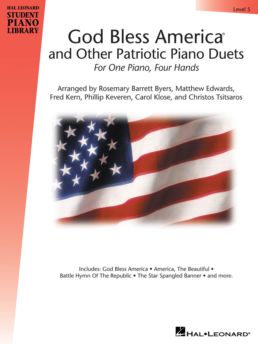 Product Cover for God Bless America and Other Patriotic Piano Duets – Level 5