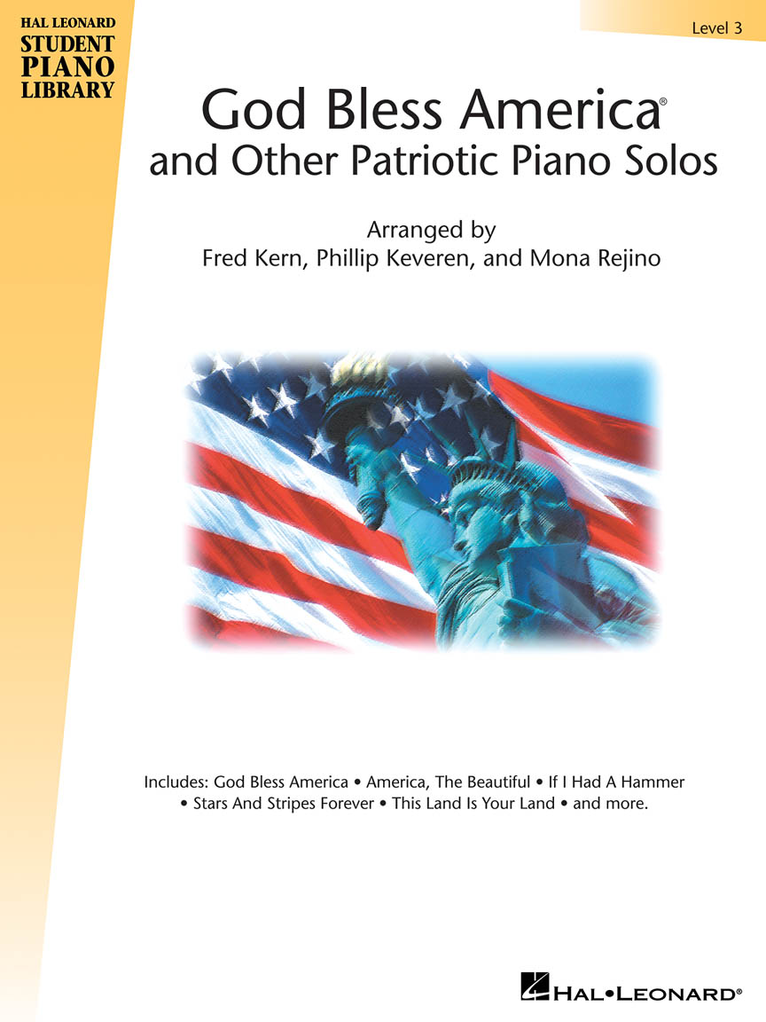 God Bless America® and Other Patriotic Piano Solos – Level 3