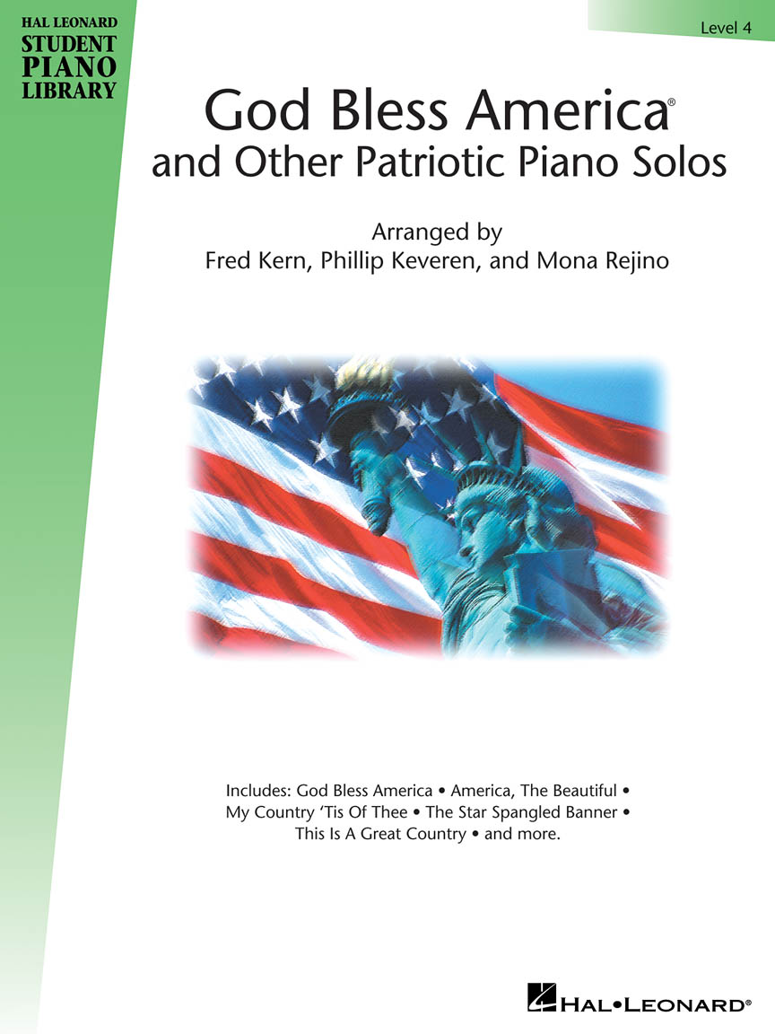 God Bless America® and Other Patriotic Piano Solos – Level 4