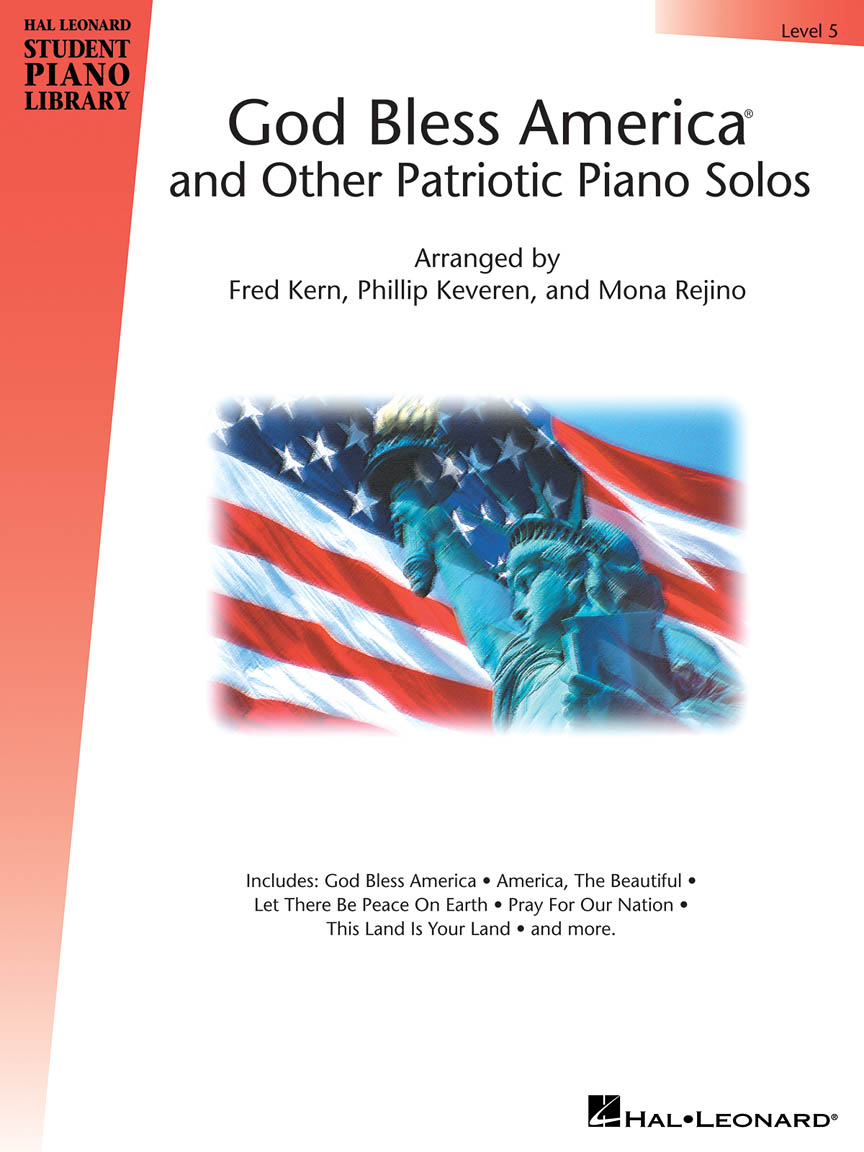 Product Cover for God Bless America® and Other Patriotic Piano Solos – Level 5