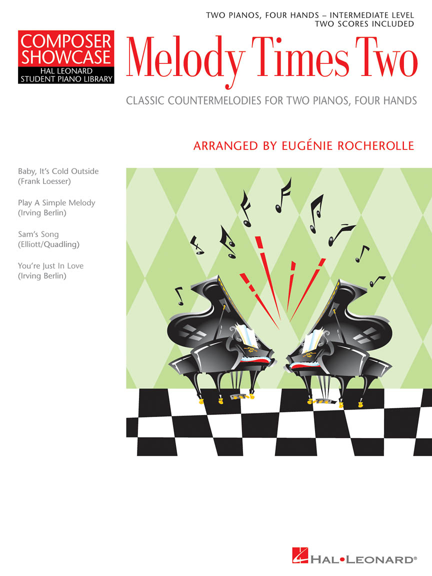 Product Cover for Melody Times Two Classic Counter-Melodies for Two Pianos, Four Hands