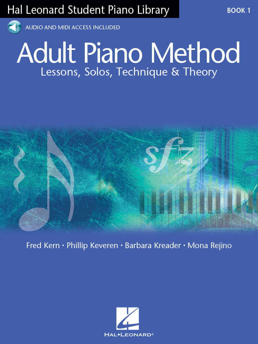 Product Cover for Adult Piano Method – Book 1