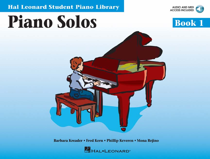 Product Cover for Piano Solos Book 1 – Book with Online Audio and MIDI Access