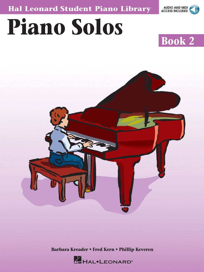Product Cover for Piano Solos Book 2 – Book with Online Audio