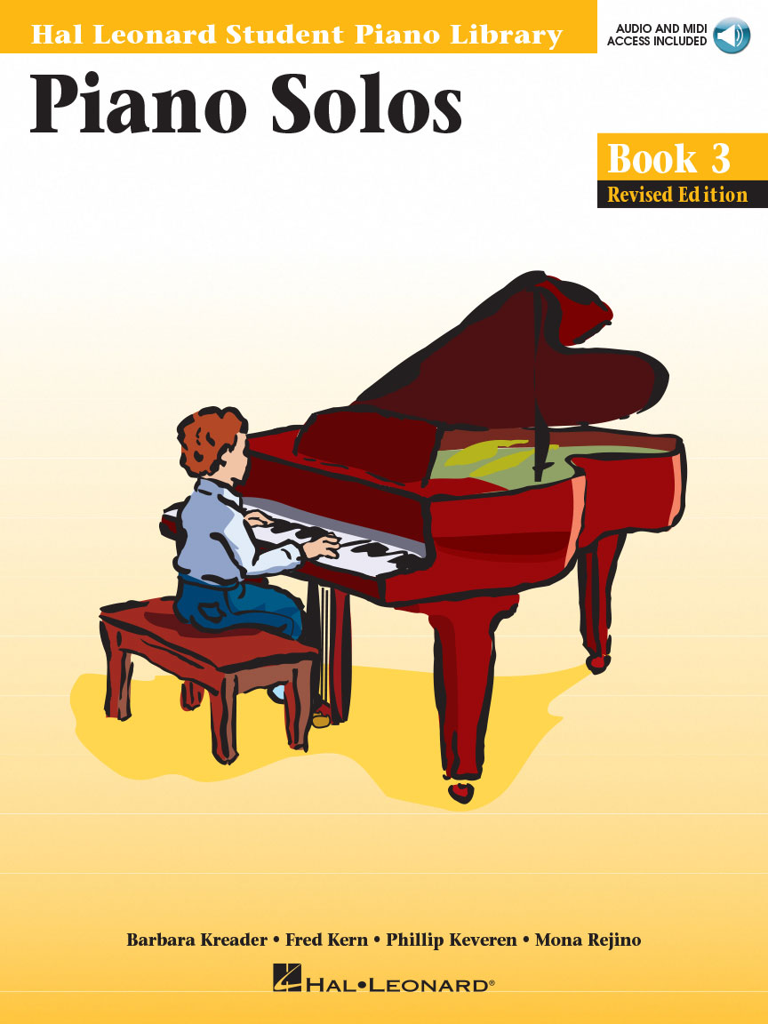 Product Cover for Piano Solos Book 3 – Revised Edition
