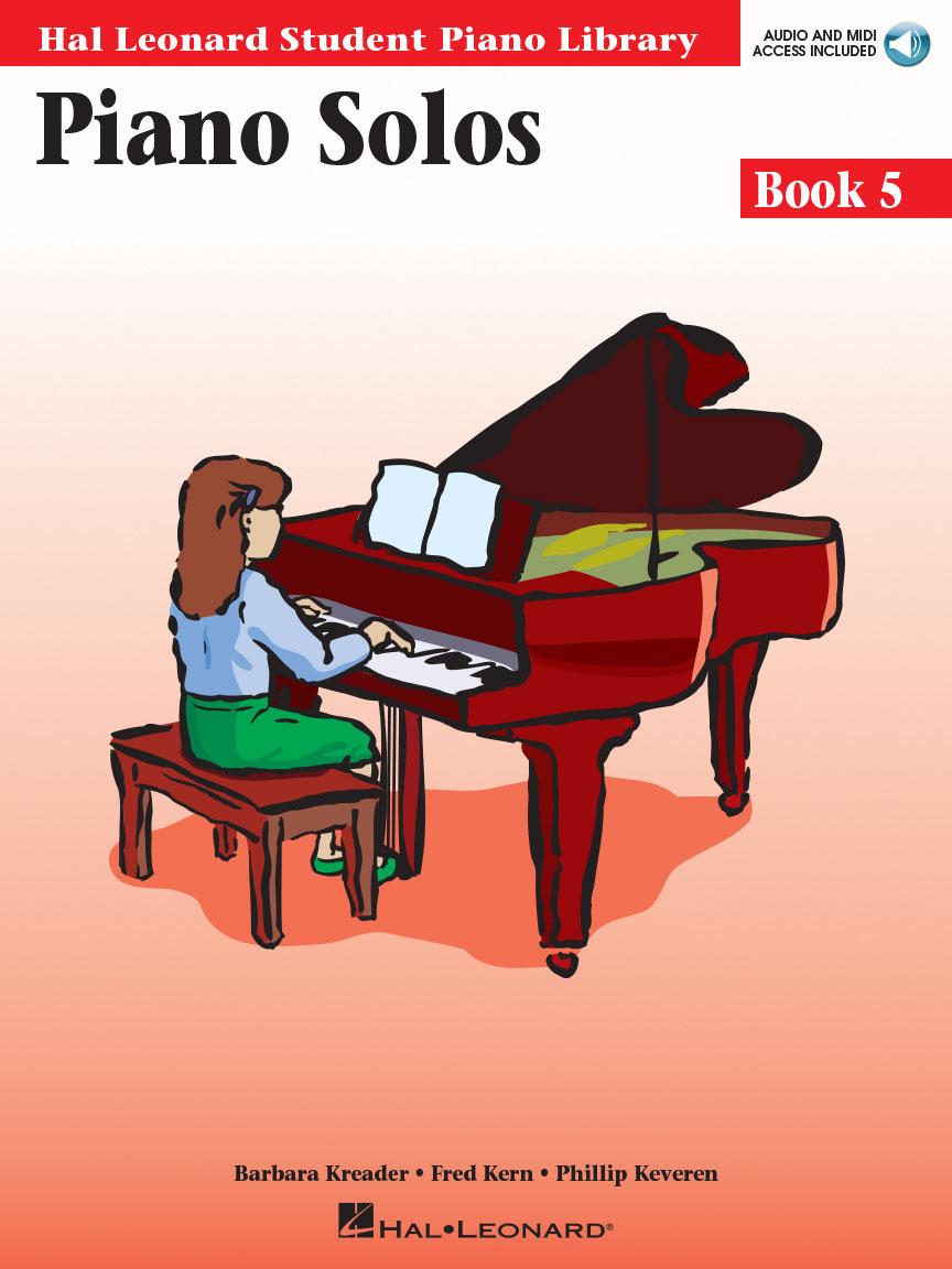 Piano Solos Book 5 – Book/Online Audio