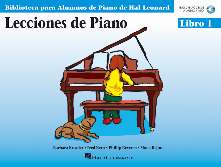 Product Cover for Lecciones de Piano – Libro 1