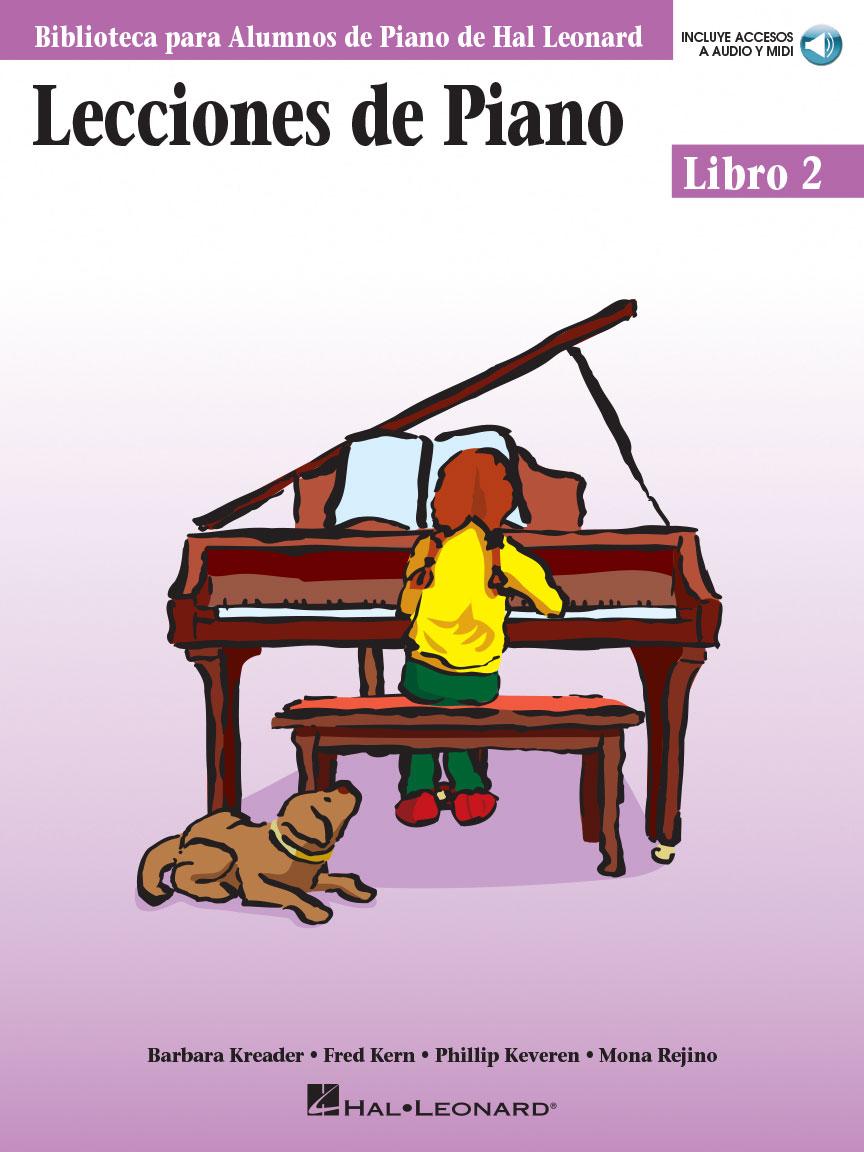 Product Cover for Lecciones de Piano Libro 2
