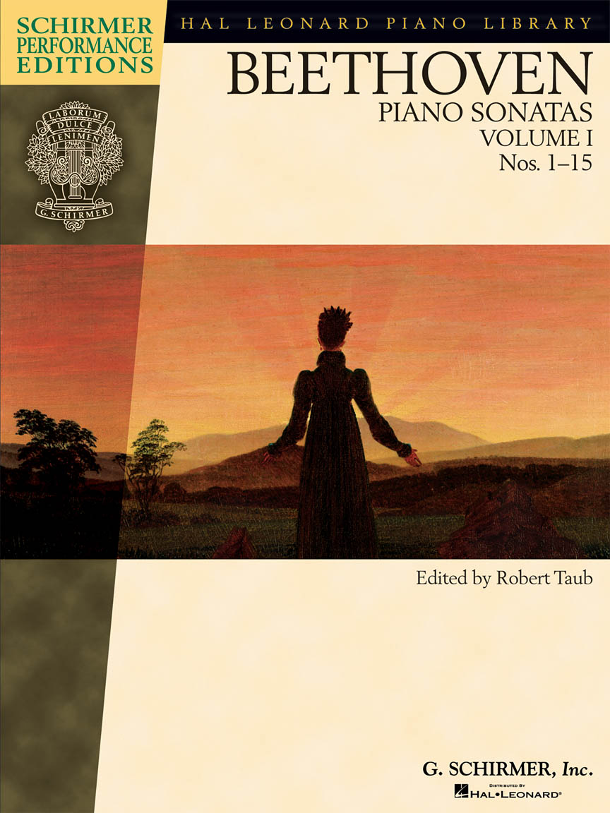 Beethoven – Piano Sonatas, Volume I – Book Only