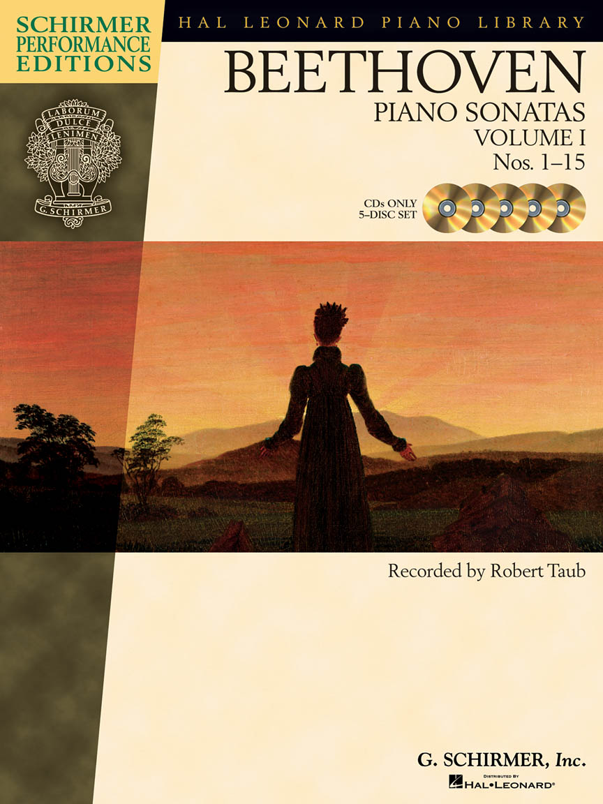Beethoven – Piano Sonatas, Volume I – CDs Only (set of 5)
