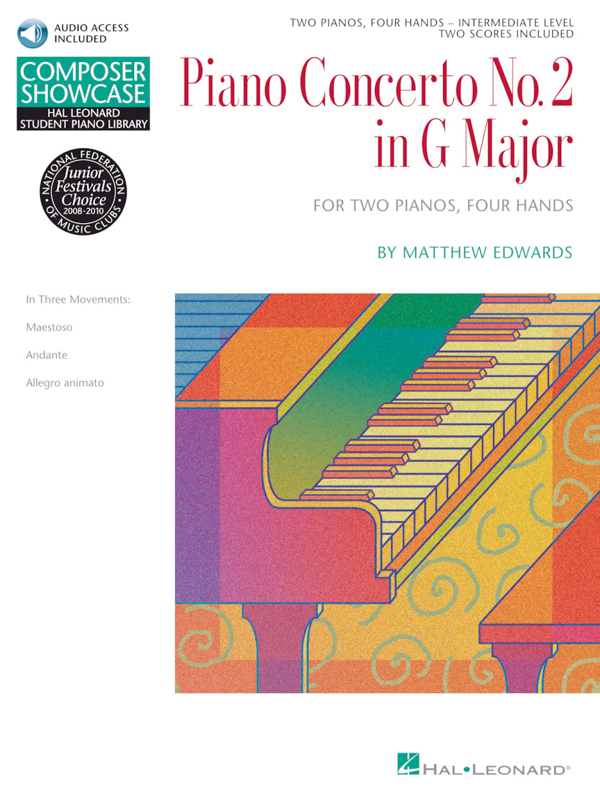Product Cover for Concerto No. 2 in G Major for 2 Pianos, 4 Hands
