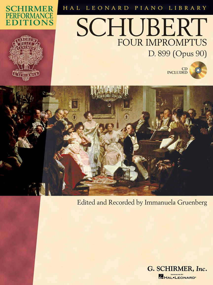 Product Cover for Schubert – Four Impromptus, D. 899 (0p. 90)