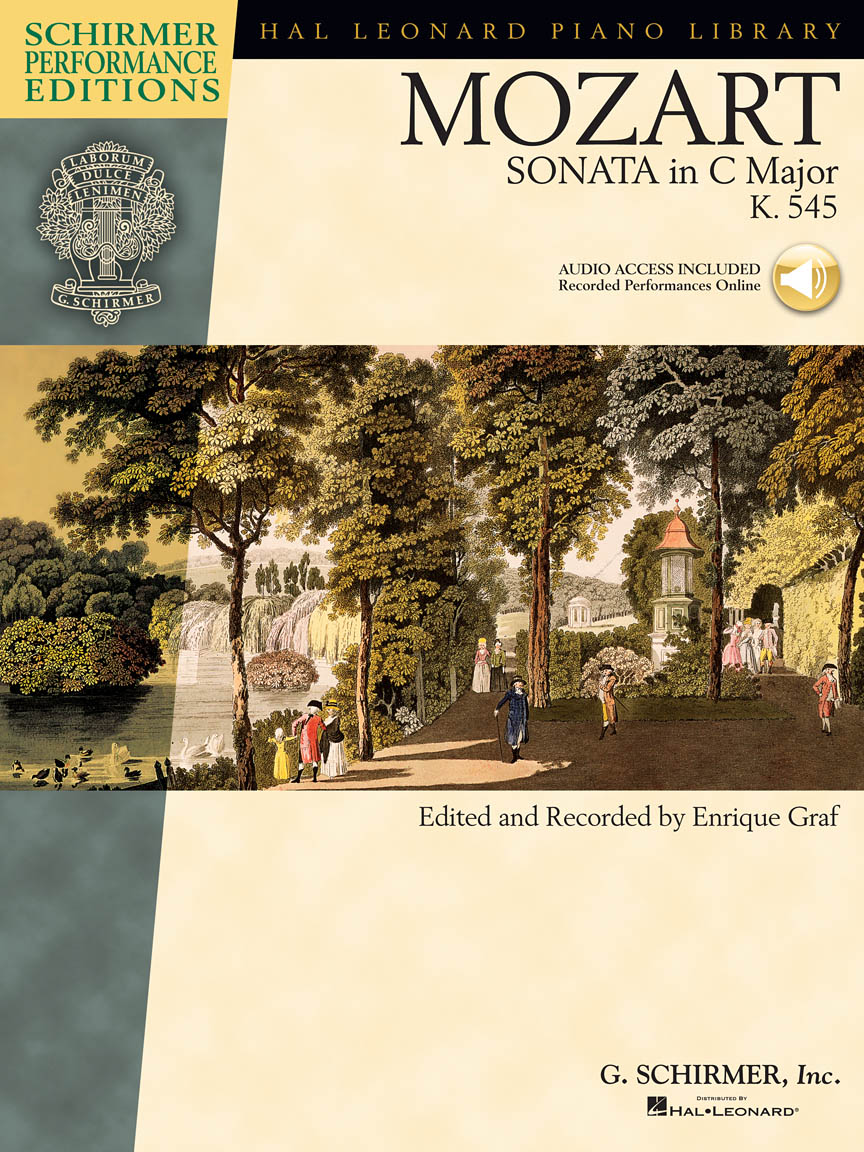 "Product Cover for Mozart – Sonata in C Major, K. 545, ""Sonata Facile"""
