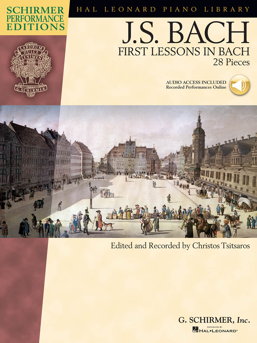 Product Cover for First Lessons in Bach