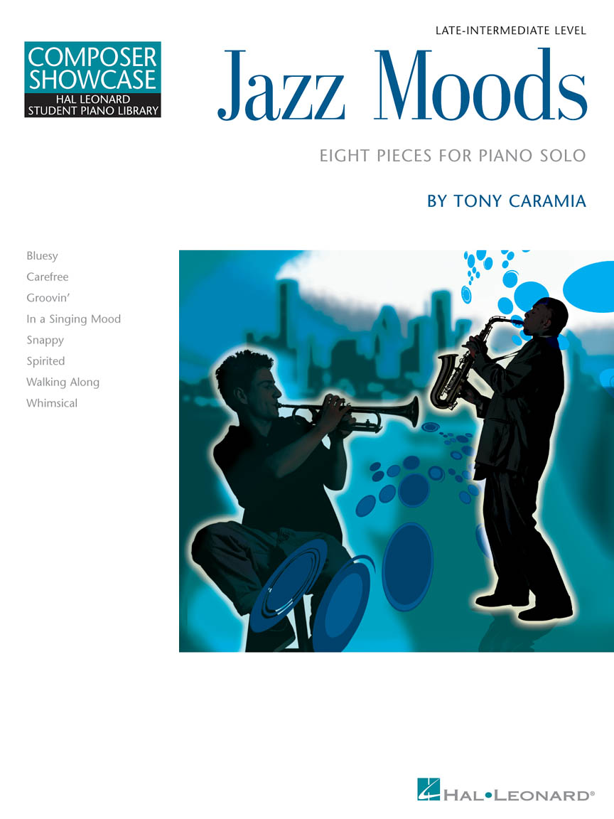 Product Cover for Jazz Moods – Eight Pieces for Piano Solo