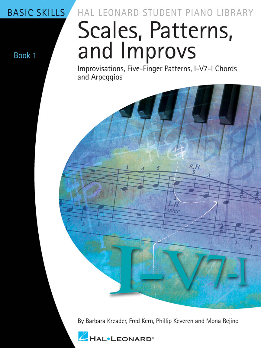 Product Cover for Scales, Patterns and Improvs – Book 1