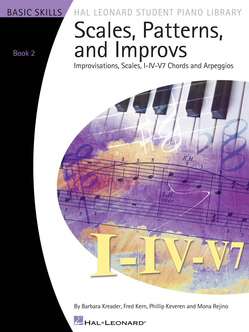 Product Cover for Scales, Patterns and Improvs – Book 2