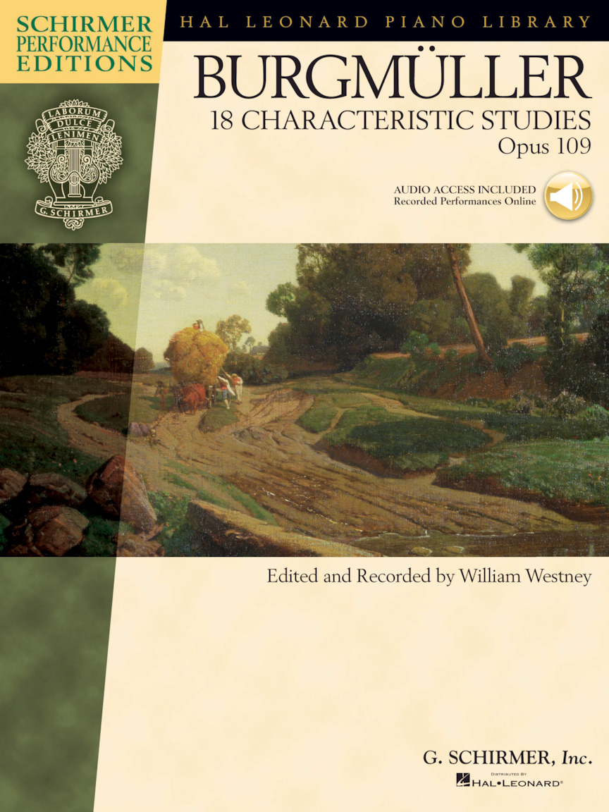 Product Cover for Johann Friedrich Burgmüller – 18 Characteristic Studies, Opus 109
