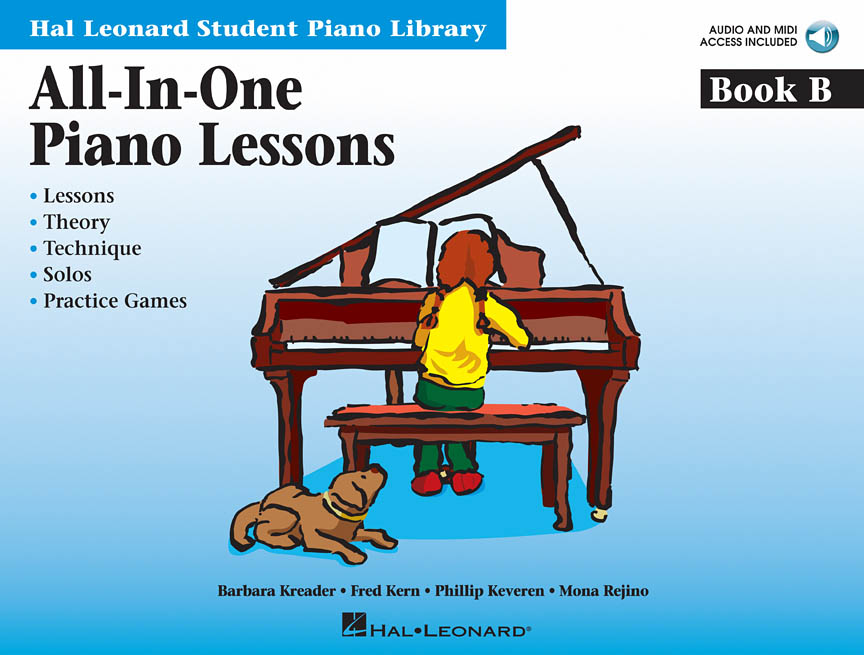 Product Cover for All-In-One Piano Lessons Book B