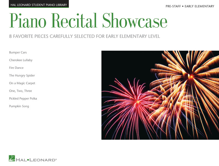Piano Recital Showcase Pre-staff