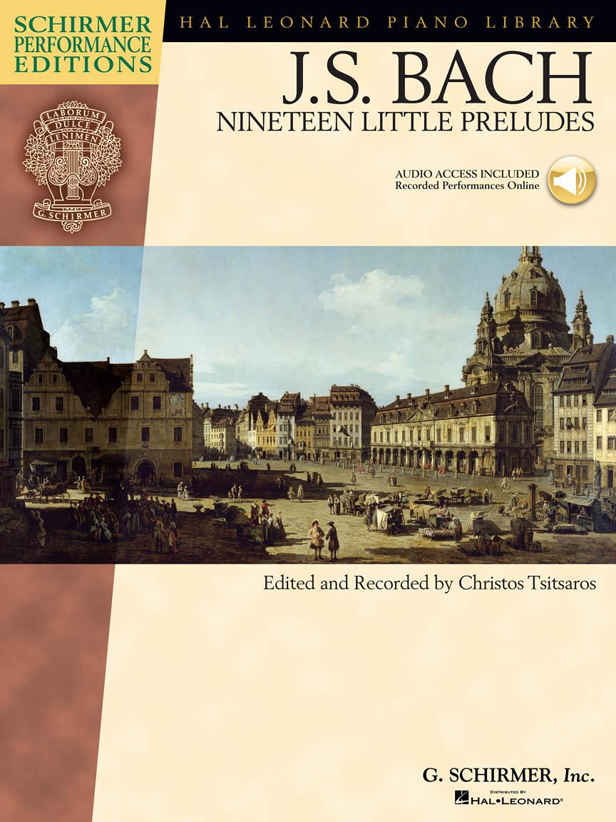 Product Cover for Johann Sebastian Bach – Nineteen Little Preludes