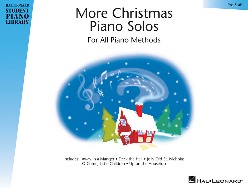 Product Cover for More Christmas Piano Solos – Prestaff Level