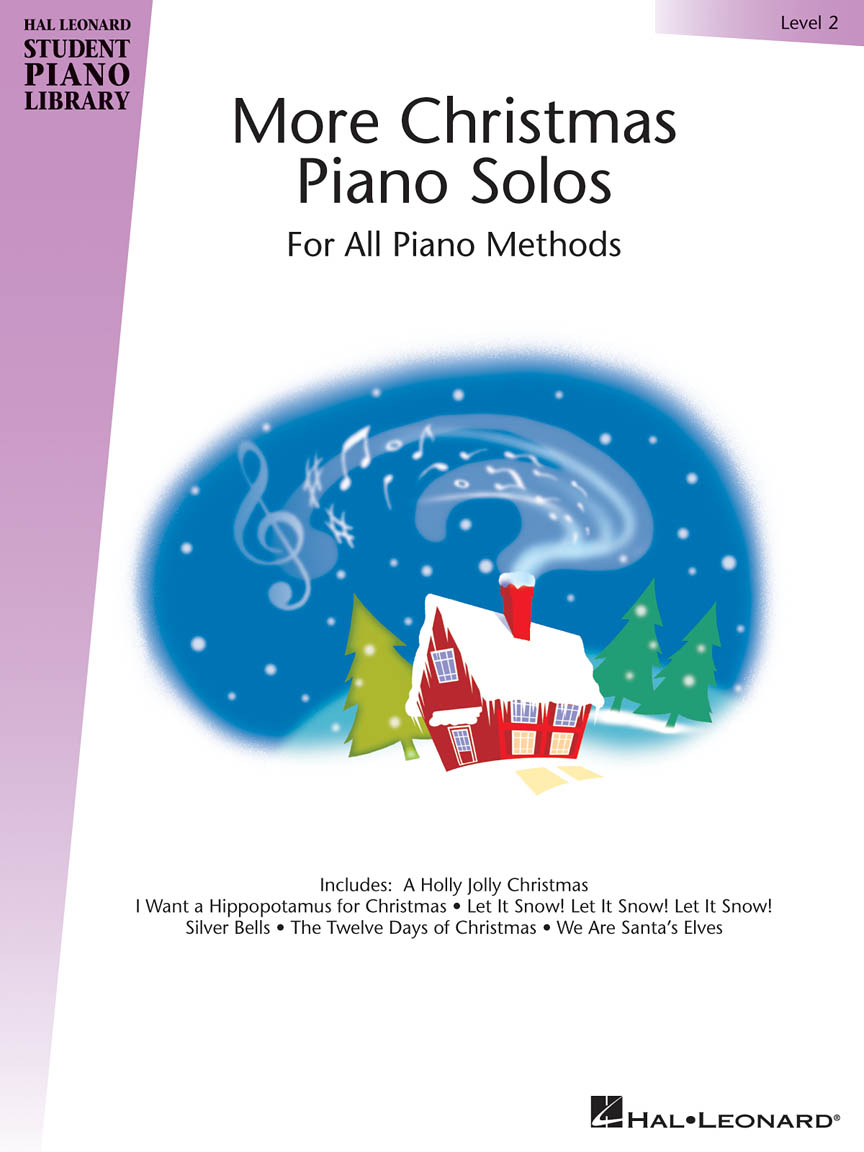 Product Cover for More Christmas Piano Solos – Level 2