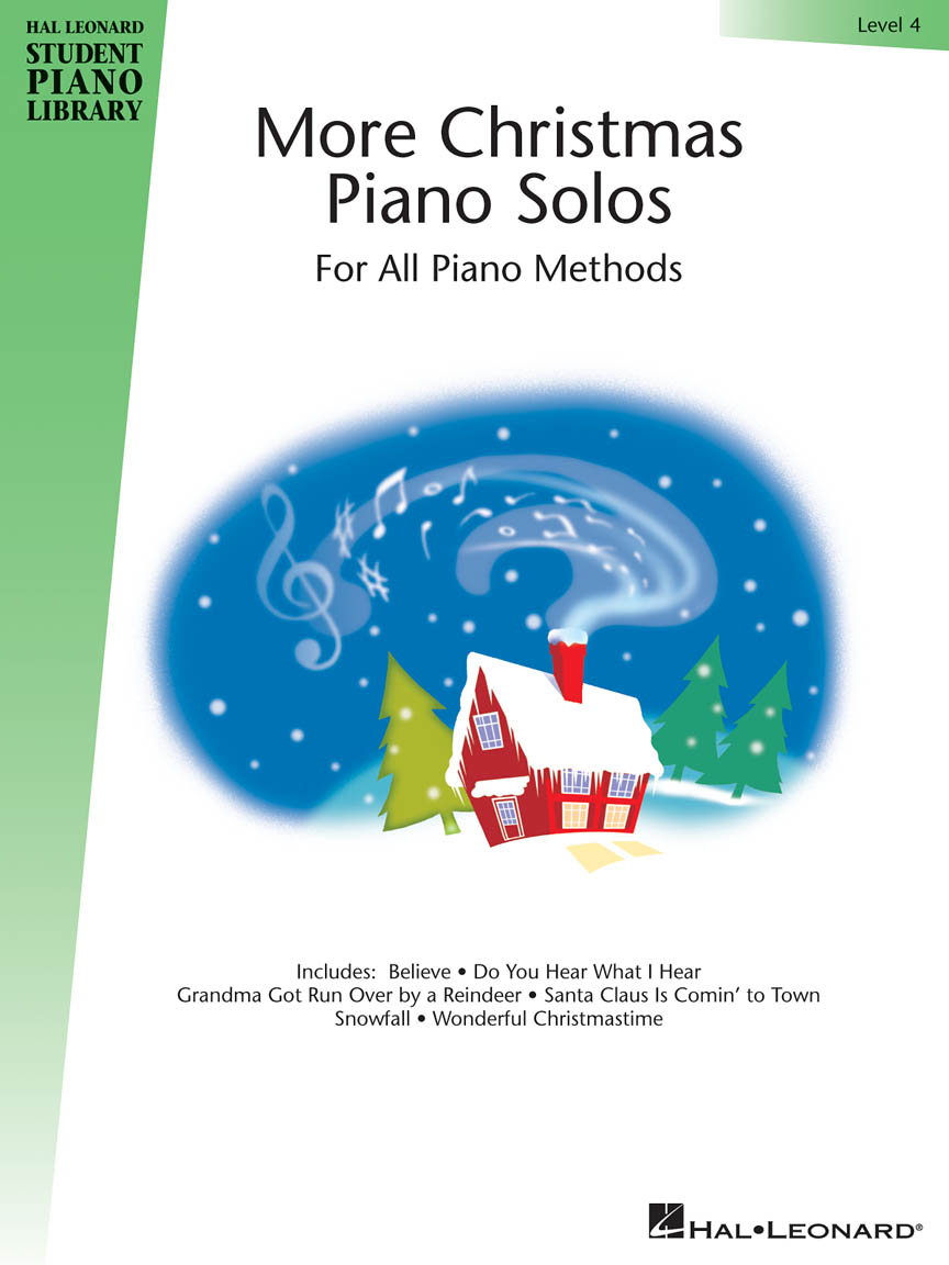 More Christmas Piano Solos – Level 4