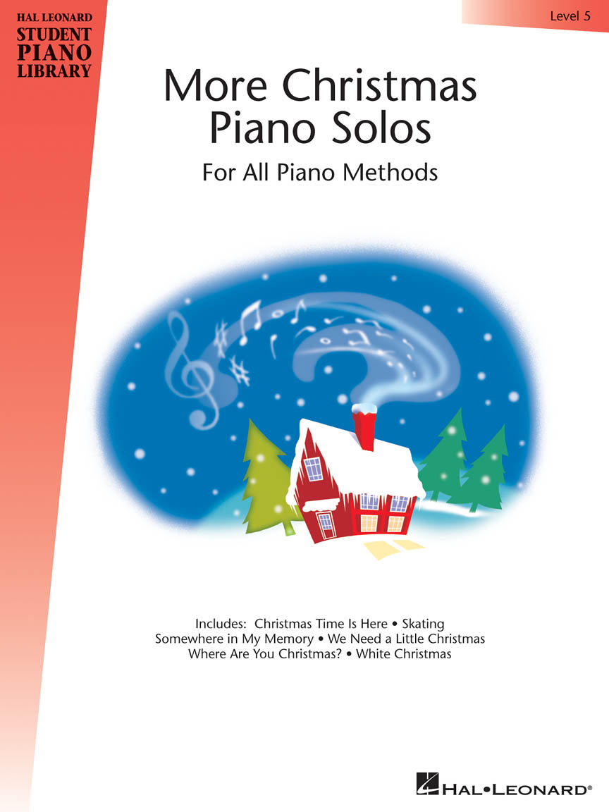 Product Cover for More Christmas Piano Solos – Level 5