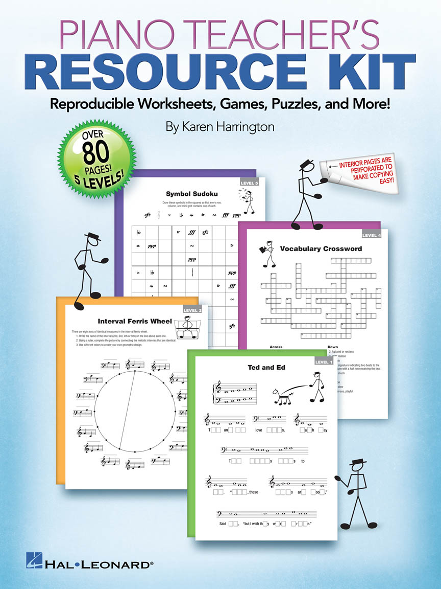 Product Cover for Piano Teacher's Resource Kit