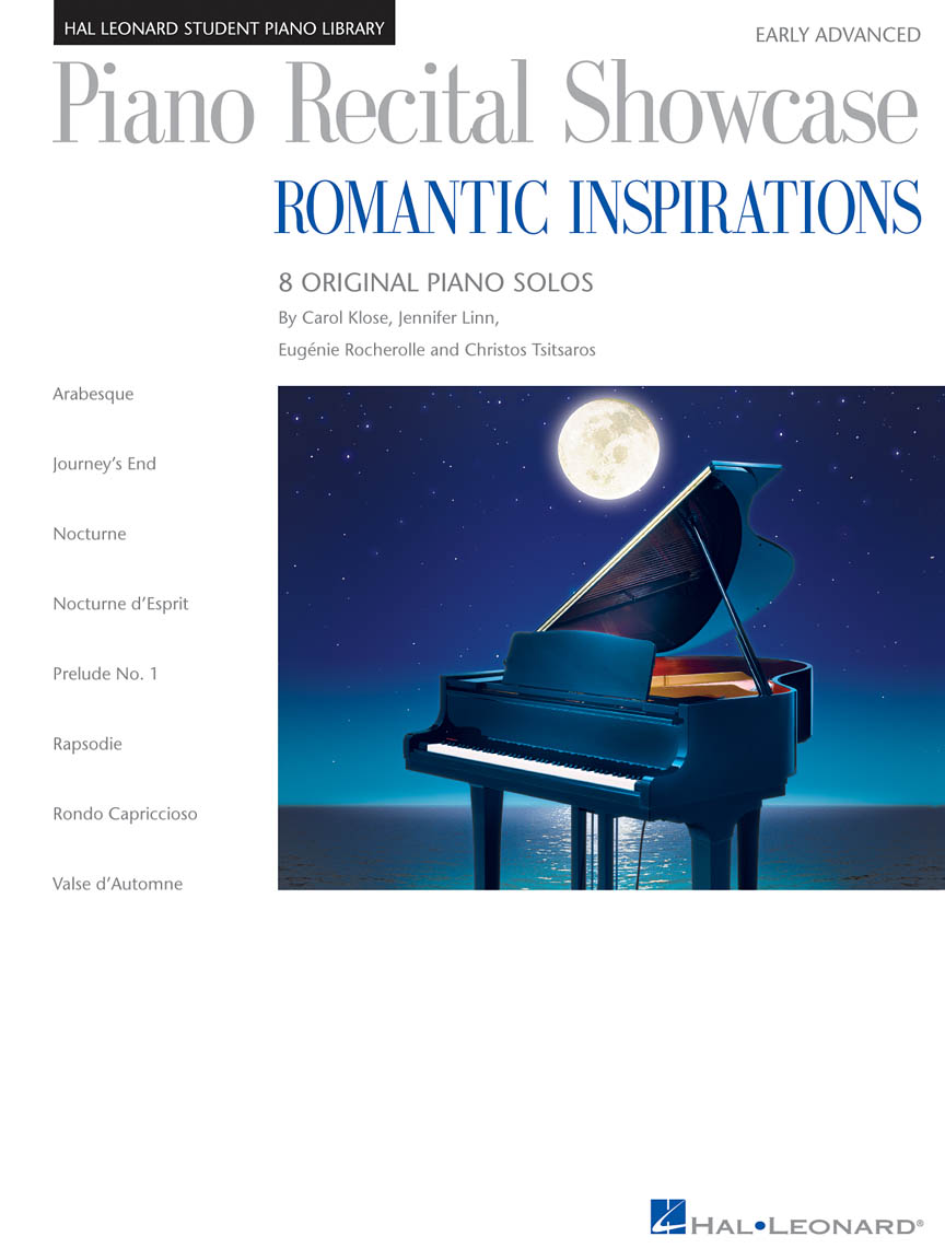 Product Cover for Piano Recital Showcase: Romantic Inspirations