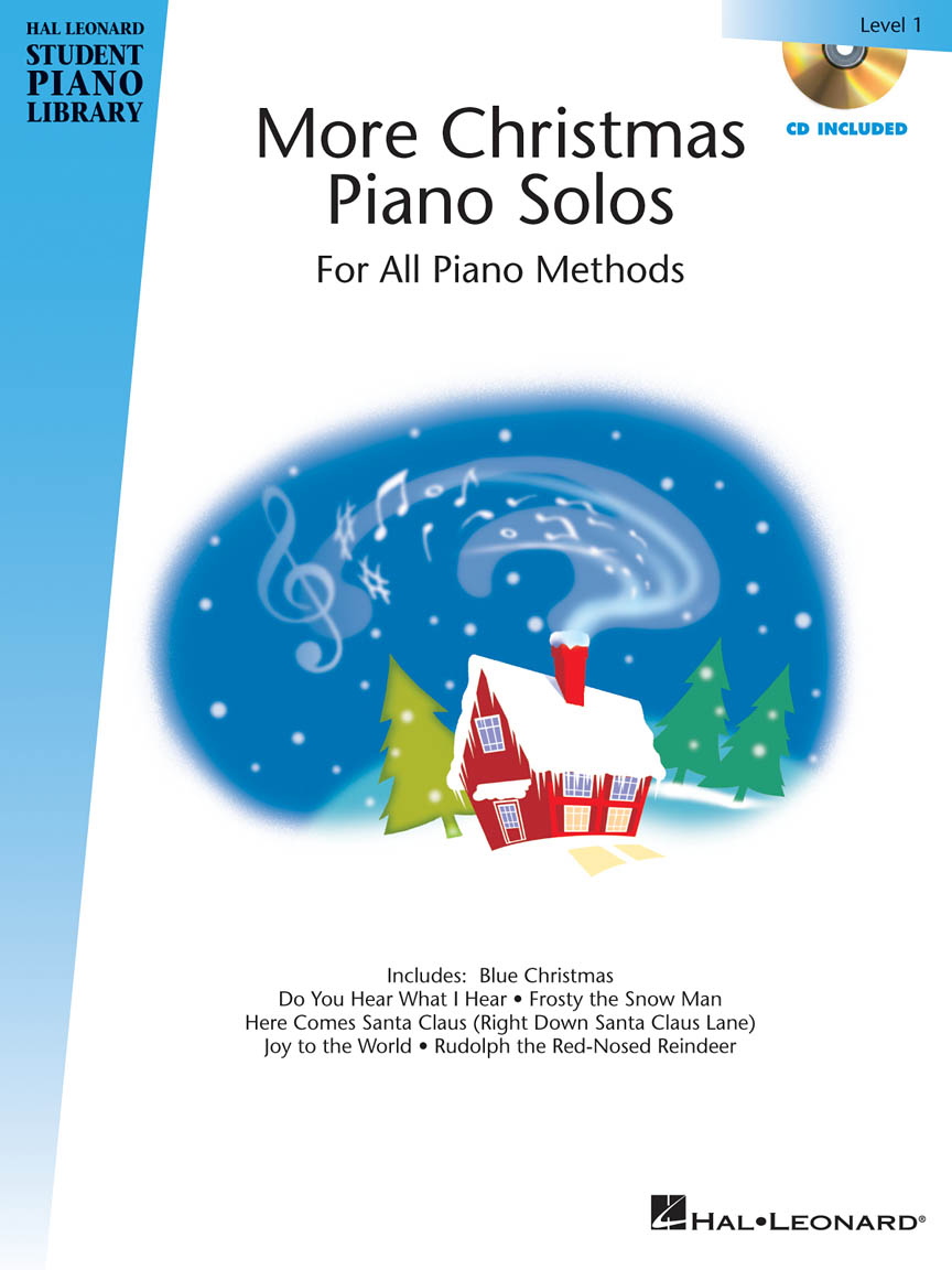 Product Cover for More Christmas Piano Solos – Level 1