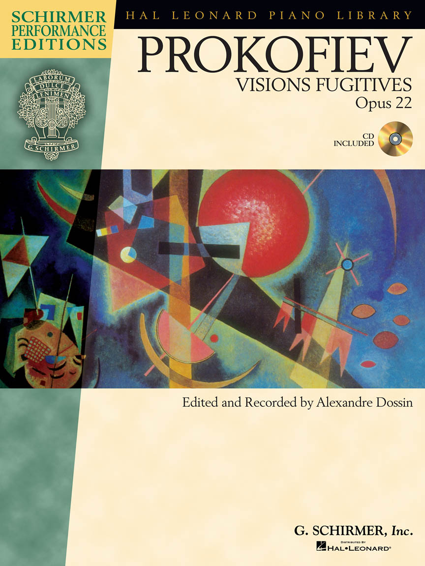 Product Cover for Sergei Prokofiev – Visions Fugitives, Op. 22