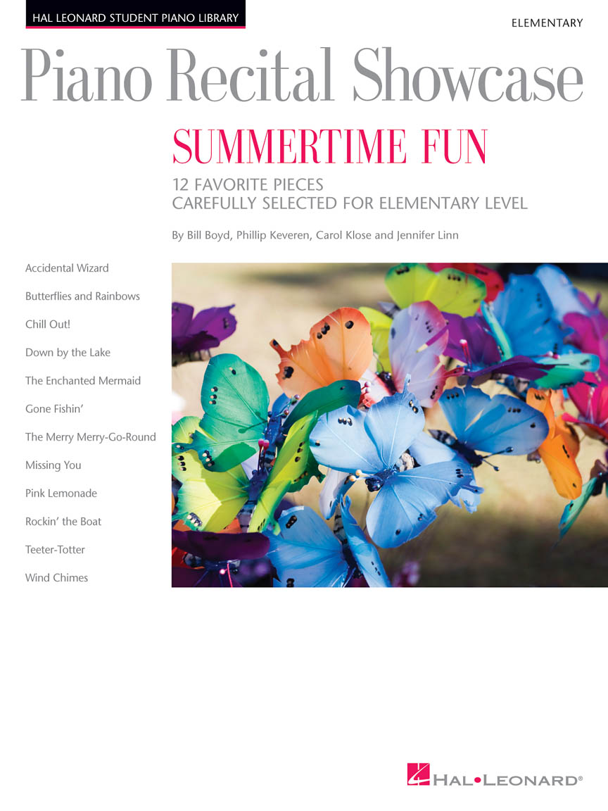 Product Cover for Piano Recital Showcase – Summertime Fun