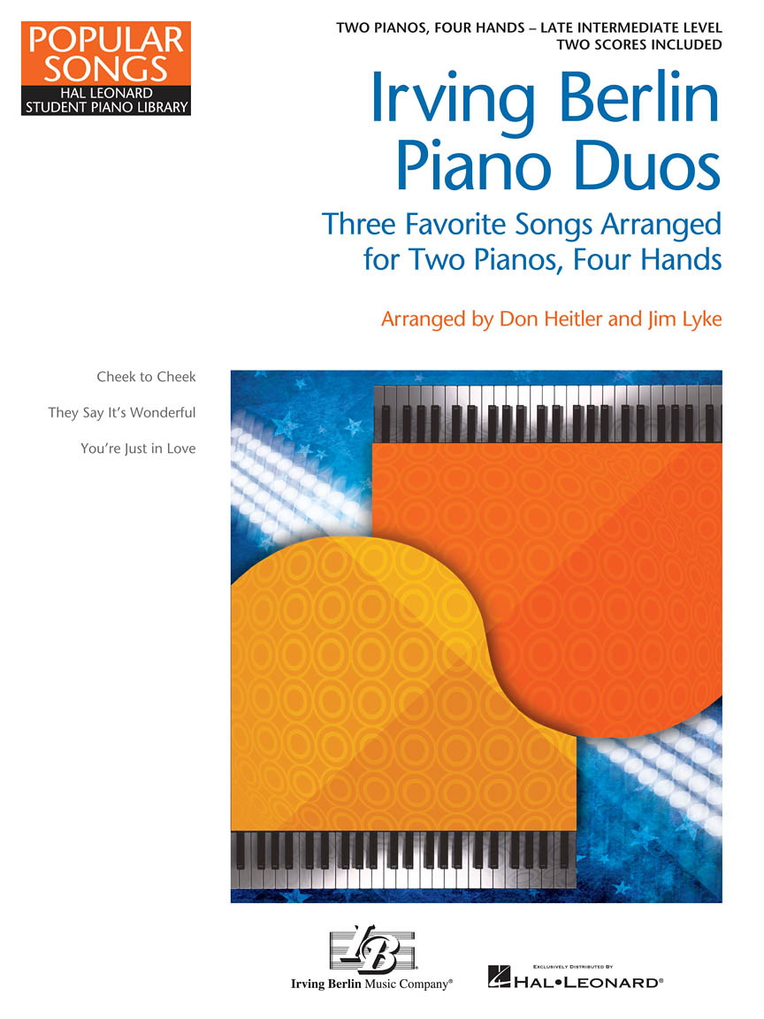 Product Cover for NFMC 2020-2024 Selection Three Favorite Songs Arranged for 2 Pianos, 4 Hands