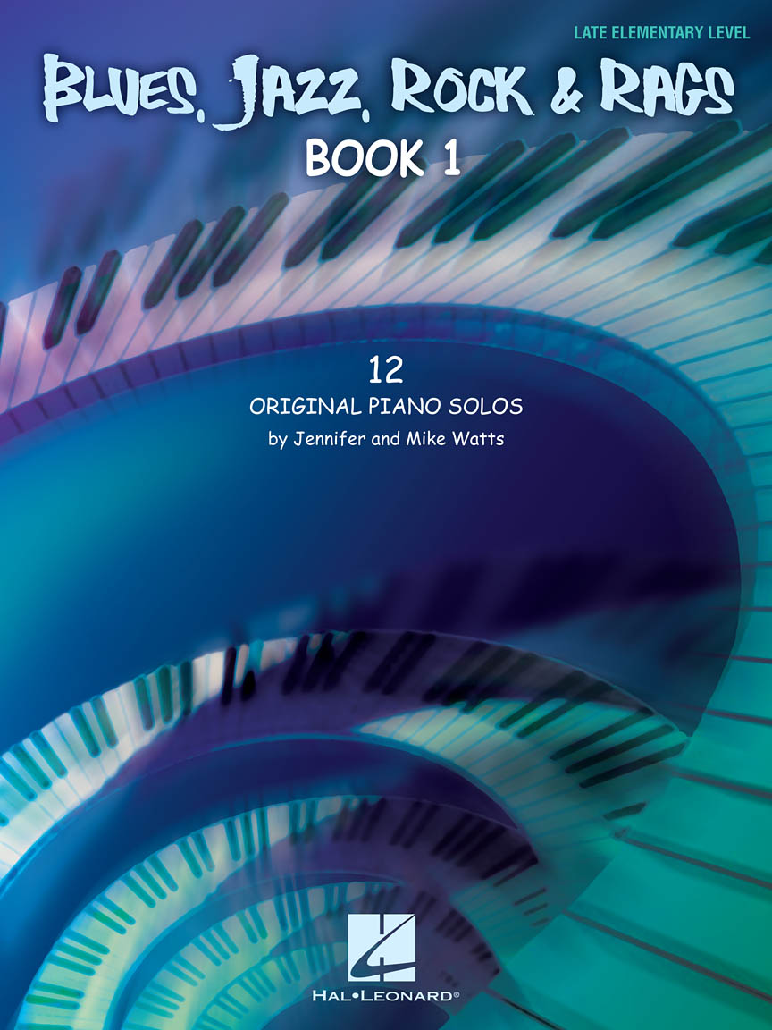 Product Cover for Blues, Jazz, Rock & Rags – Book 1