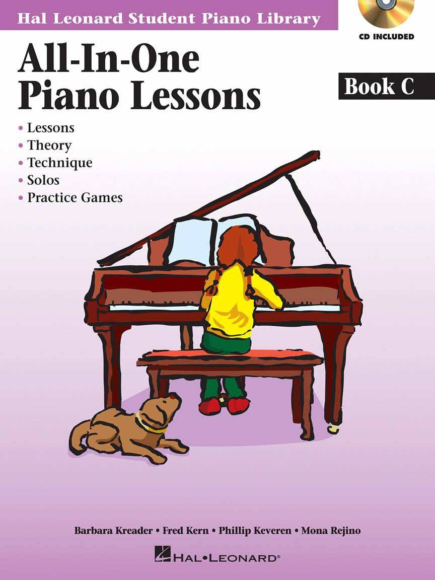 Product Cover for All-in-One Piano Lessons Book C
