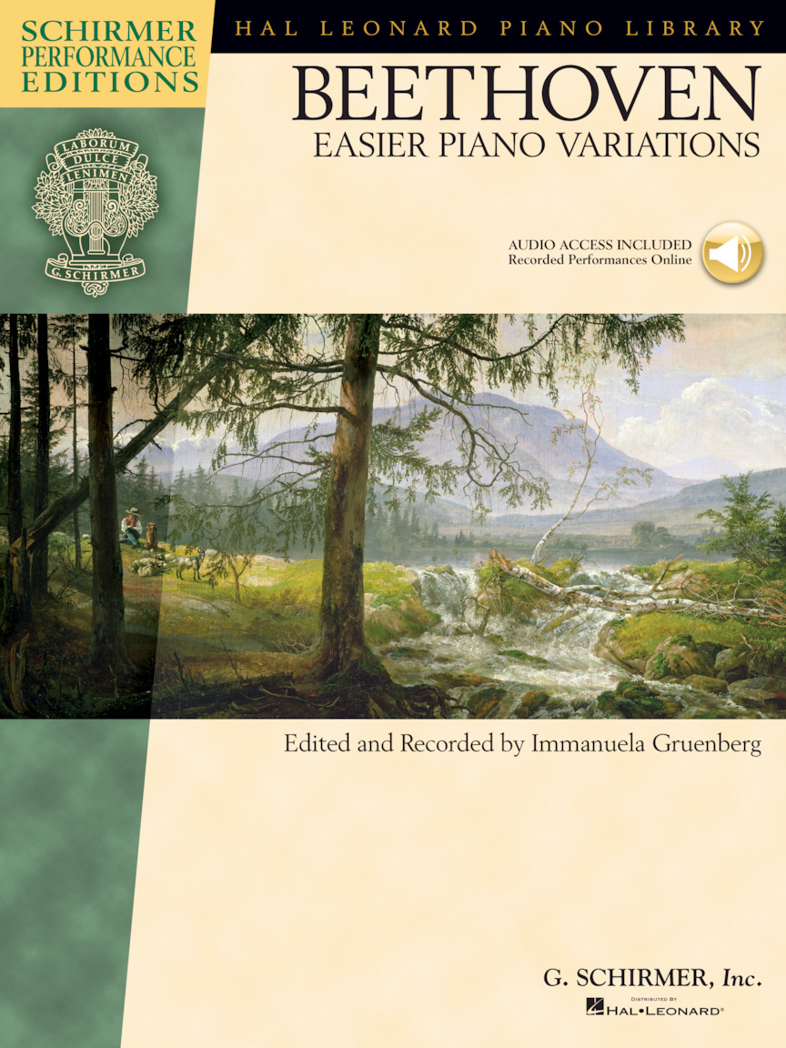Product Cover for Ludwig van Beethoven – Easier Piano Variations