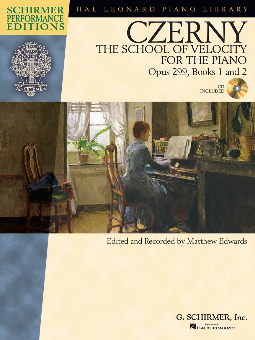 Product Cover for Carl Czerny – The School of Velocity for the Piano, Opus 299, Books 1 and 2