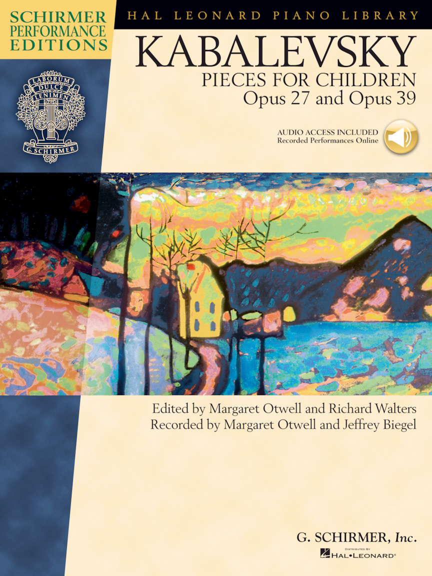 Product Cover for Dmitri Kabalevsky – Pieces for Children, Op. 27 and 39