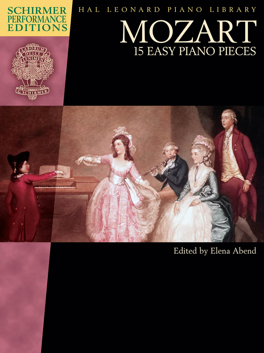 Product Cover for Mozart – 15 Easy Piano Pieces