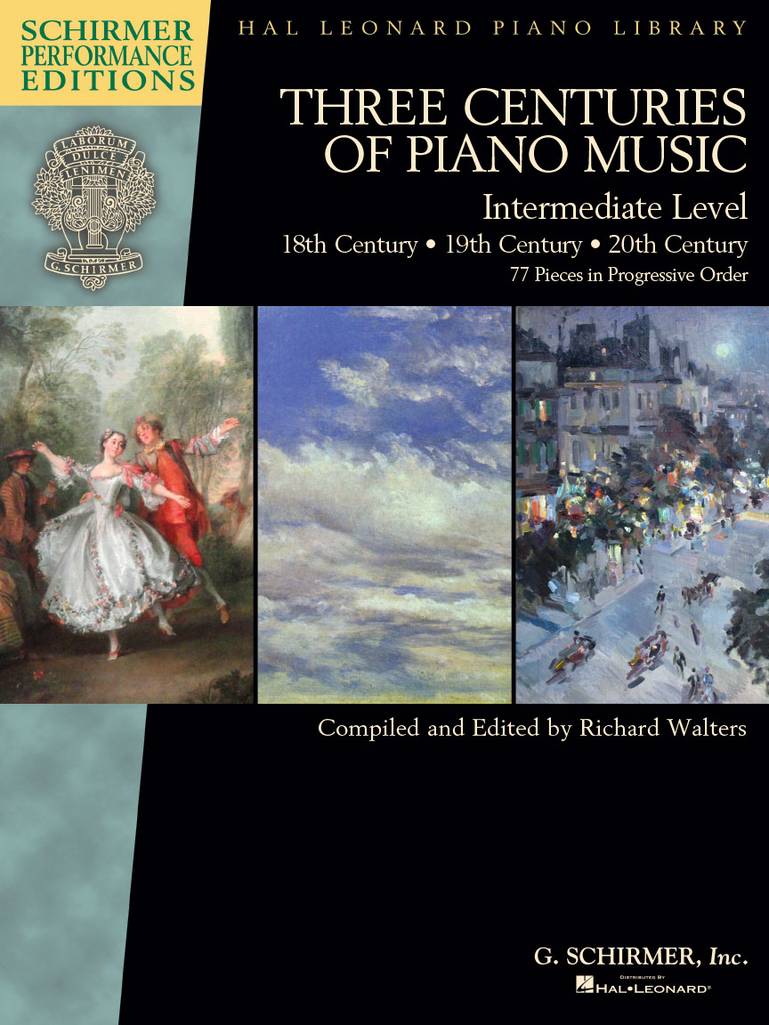 Product Cover for Three Centuries of Piano Music: 18th, 19th & 20th Centuries