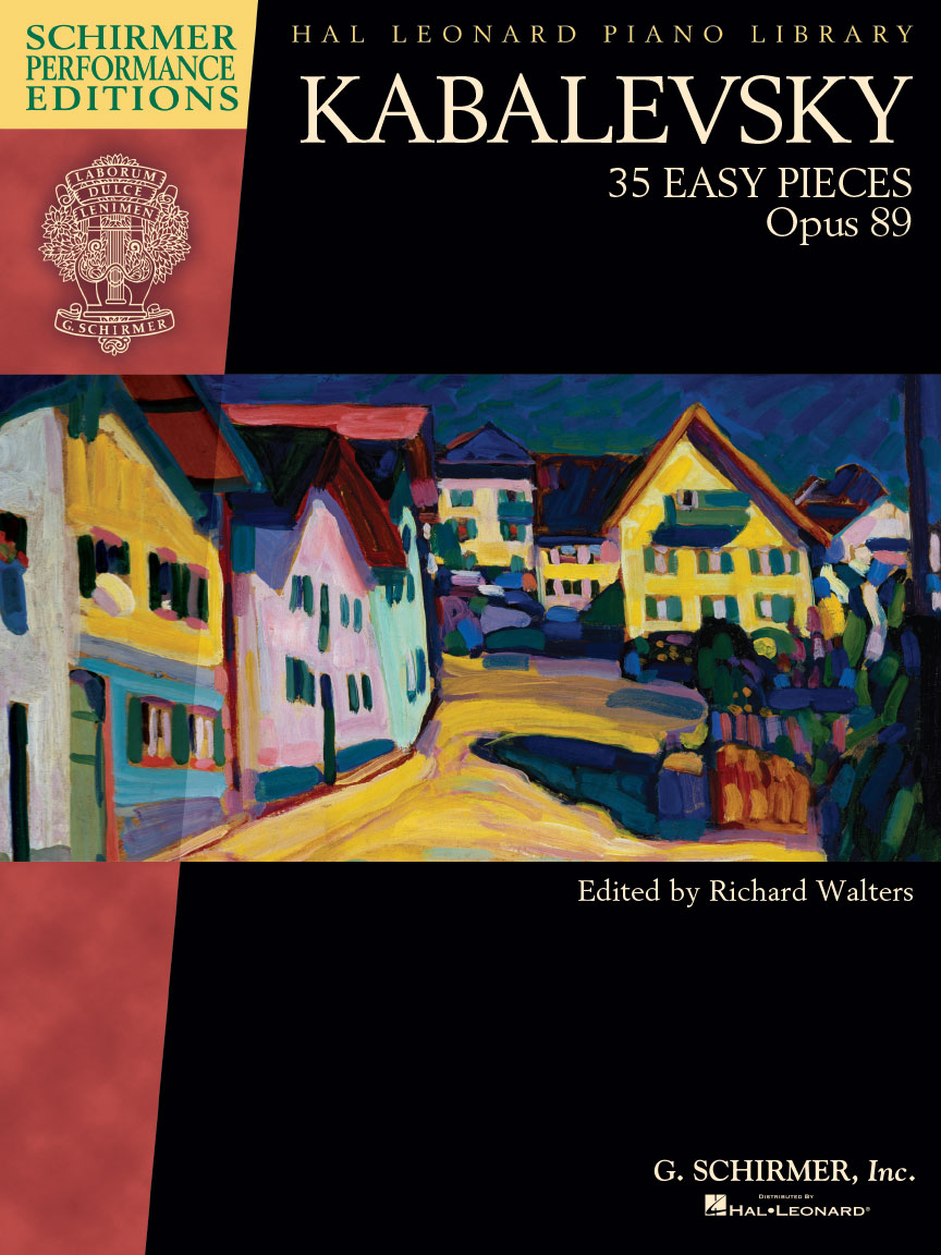 Product Cover for Kabalevsky – 35 Easy Pieces, Op. 89 for Piano