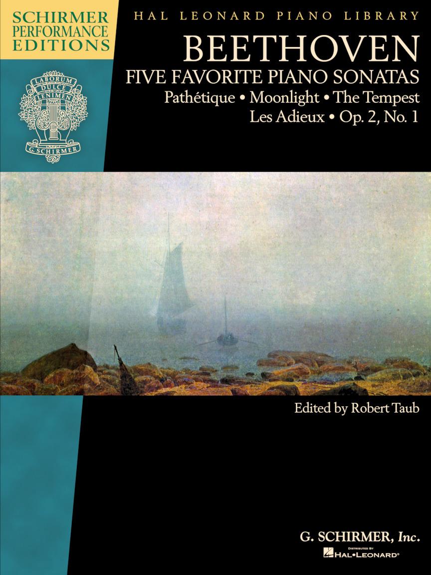 Beethoven – Five Favorite Piano Sonatas